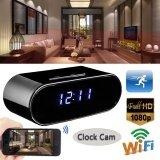 ส่วนลด 1080P Hd Wifi Wireless Hidden Spy Clock Camera Night Version Alarm Ir Camcorder Intl Unbranded Generic