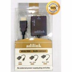 ขาย 1080P Hdmi To Vga Video Converter Adapter Hd Cable Audio Output Hdmi2Vga With Audio Cable Adilink ออนไลน์ กรุงเทพมหานคร