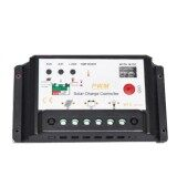 ราคา โซลาร์ชาร์จ 10A 12V 24V Solar Charge Controller Solar Panel Battery Regulator Safe Protection ใหม่