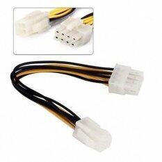 ขาย 10Cm 4Pin To 8 Pin Eps 12V Atx Motherboard Power Supply Adapter Converter Cable เป็นต้นฉบับ
