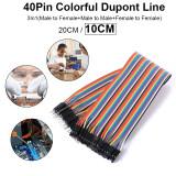 ราคา 10Cm Dupont Wire Cable Line Female Male Jumper Pi Pic Breadboard Arduino Te462 เป็นต้นฉบับ