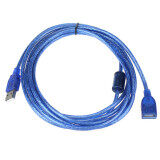 ซื้อ 10Ft 3M Usb 2 A Male M To A Female For Extension Cable Blue ใหม่