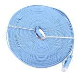 ขาย ซื้อ ออนไลน์ 10Meters Rj45 Cat6 Ethernet Network Flat Lan Cable Utp Patch Router Cables 1000M Intl