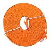 ราคา 10Meters Rj45 Cat6 Ethernet Network Flat Lan Cable Utp Patch Router Cables 1000M Intl ใหม่