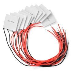10pcs 12V TEC1-12706 ฮีทซิงค์ Heatsink Thermoelectric Cooler Peltier Cooling Plate