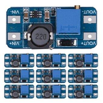 10 ชิ้น MT3608 2A DC-DC ขั้นสูงขึ้นใช้ผู้สนับสนุนโมดูลสำหรับ Arduino-นานาชาติ