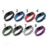 ขาย 11 Colors Replacement Wrist Watch Band Strap For Mi Band 2 Miband 2 Tracker Soft Silicone Intl ออนไลน์ จีน