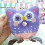 ขาย 12 Cm Squishy Punimaru Jumbo Animal Donut Purple Owl Sweet Scented Slow Rising สกุชชี่ โดนัทนกฮูก สีม่วง หอมบลูเบอร์รี่ ใน กรุงเทพมหานคร