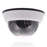 ขาย 1200Tvl Cmos 22Ir Cut 3 6Mm Lens Dome Cctv Security Camera Night Vision White ถูก จีน
