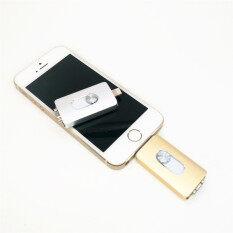 ขาย 128 กิกะไบต์แฟลชไดรฟ์ไดรฟ์ U ดิสก์ไมโคร Interfaccia ยูเอสบีต่อแอนดรอยด์ Iphone 5 6 5 3 ใน 1 วินาที 6 พลัส Ipad Ipod พีซี Mac ทอง นานาชาติ ใน จีน