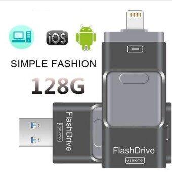 128 กิกะไบต์แฟลชไดรฟ์ยูเอสบีแฟลชไดรฟ์ไดรฟ์ข้อมูลสายฟ้าสำหรับ IPhone/iPad/iPod ยูเอสบีไดรฟ์ปากกาสำหรับพีซี/MAC-นานาชาติ