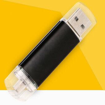 128 กิกะไบต์ภายนอกยูเอสบีเมมโมรี่สติ๊ก U ดิสก์ไดรฟ์ปากกาไดรฟ์ยูเอสบีแฟลชไดรฟ์สำหรับโทรศัพท์สมาร์ทโฟน (สีดำ)
