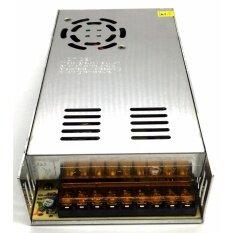 ราคา กล่องรวมไฟ แบบพัดลม 12V 30A 360W สำหรับกล้องวงจรปิด ไม่ใช้ อแดปเตอร์ Switching Power Supply ใหม่