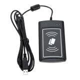 ซื้อ 13 56Mhz Rfid Contactless Card Reader Writer Acr1281U C8 With 5Pcs Cards Black Intl ถูก ใน จีน