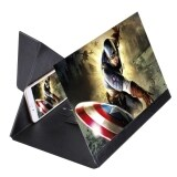 ความคิดเห็น 14 Inch Universal Foldable Portable Pu Organic Glass Eyeshield 3D Video Mobile Phone Screen Magnifier Bracket Enlarge With Holder For All Smartphones Size 28 7 Cm X 19 5 Cm X 1 Cm Black Intl