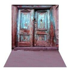 โปรโมชั่น 1 5 2M Photography Background Backdrop Digital Mott Wooden Door Pattern For Photo Studio Intl Unbranded Generic
