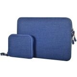 ขาย 15 4 Inch Denim Fashion Zipper Linen Waterproof Sleeve Case Bag For Laptop Notebook Blue ถูก ฮ่องกง