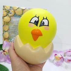 โปรโมชั่น 15 Cm Squishy Hachie By Decomayshop Super Soft Slow Rising สกุชชี่ ไก่ในไข่ ไก่หน้ากวน นุ่มสโลว์ ใน กรุงเทพมหานคร