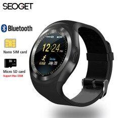 """1.54 """"บลูทูธสมาร์ทนาฬิกา IOS 2 กรัมโทรศัพท์สมาร์ทนาฬิกาสนับสนุน TF/ซิมการ์ดฟิตเนสนาฬิกา Pedometer ข้อความผลักดันนาฬิกาอัจฉริยะ-นานาชาติ"""