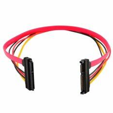 15+7 Pin Sata Hdd Extension Cable Data & Power Male To Female  By Touch Shop.