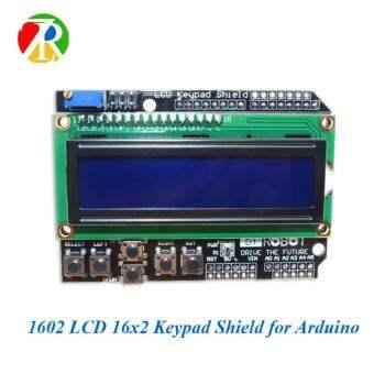บอร์ดแสดงผล LCD1602 Keypad Shield LCD 16x2 สำหรับ Arduino UNO R3 MEGA2560 1 ชิ้น