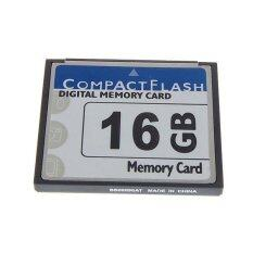 โปรโมชั่น 16Gb Cf Digital Memory Card For Cameras Cellphones Gps Mp3 And Pdas ถูก