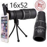 ขาย ซื้อ 16X52 กล้องส่องทางไกล กล้องโทรทรรศน์ กล้องส่องทางไกลตาเดียว ฟรีขาตั้งกล้องแบบ 3 ขา ใน กรุงเทพมหานคร