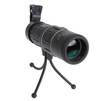 16x52 กล้องโทรทรรศน์มีตาข้างเดียว Scope สำหรับกีฬากลางแจ้งดำ-นานาชาติ