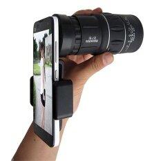 16x52 ซูมกล้องโทรทรรศน์ 66 เมตร/8000 เมตร Hd Scope + ผู้ถือโทรศัพท์-นานาชาติ.