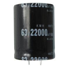 ราคา 1Pc 22000Uf 63V Volt Electrolytic Capacitor Audio Amp Power Supply 35Mm X 45Mm Intl ใหม่