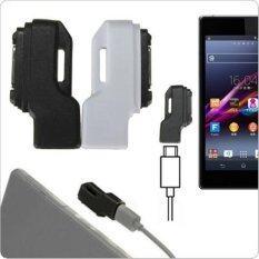 โปรโมชั่น 1Pc Micro Usb To Magnetic Charger Adapter For Sony Xperia Z1 Z2 Z3 Intl Black Unbranded Generic