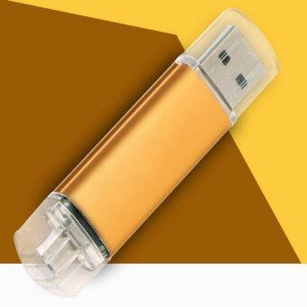 1 ไตรโลไบต์คู่ USB 3.0 พอร์ต U-ดิสก์แฟลชไดรฟ์ MemoryStick สำหรับ Android-นานาชาติ
