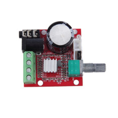 ขาย 2 10W Dual Channel Hi Fi Pam8610 Mini Amplifier Board 12V For Computer Audio เป็นต้นฉบับ