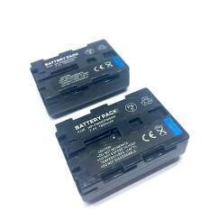 แพ๊คคู่ (จำนวน 2 ก้อน) Battery Sony FM50/FM 55H Camera Battery NP-FM50/FM55H แบตเตอรี่กล้อง SONY NP-FM50/FM55H