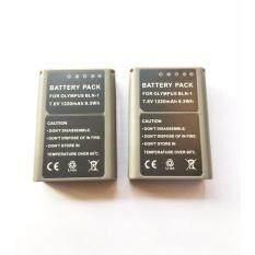 (แพ๊คคู่) จำนวน 2 ก้อน For Olympus แบตเตอรี่กล้อง รุ่น BLN-1 / BLN1 Replacement Battery for Olympus