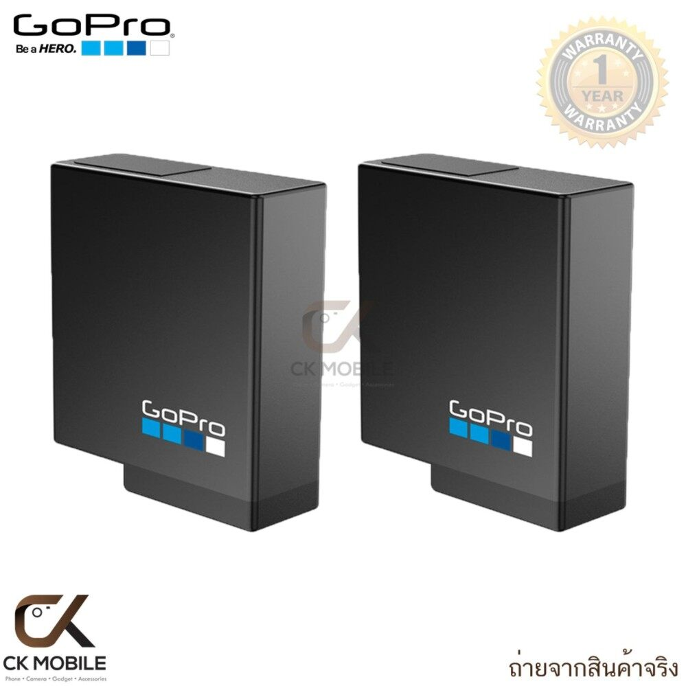(แพ๊ค 2 ชิ้น) GoPro Rechargeable Battery for HERO5 Black and HERO6 Black