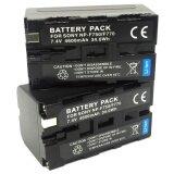 แพ็คคู่2ชิ้น แบตเตอรี่กล้อง รหัสแบต Np F730 F750 F770 4200Mah แบตกล้องโซนี่ Sony For Sony แบตใช้กับกล้อง Sony Ccd Tr845 Tr87 Tr910 Tr913 Tr917 Tr918 Tr930 Tr940 Tr950 Tr97 Replacement Battery For Sony Black By Win Store กรุงเทพมหานคร