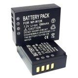 ทบทวน แพ็คคู่ 2 ชิ้น แบตเตอรี่กล้อง Xa10 Xa1 Xa2 Xa3 แบตกล้อง Fujifilm Finepix Hs30Exr Hs33Exr X Pro1 Xe1 Xe2 Xm1 Xt1 Xt10 แบตกล้อง รหัส Np W126 Np W126S Fnpw126 Replacement Battery For Fuji