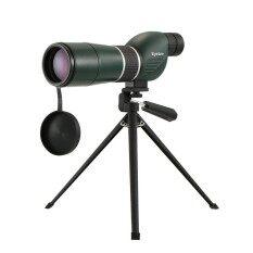 ขาย ซื้อ ออนไลน์ 20 60X60 Straight Angled Spotting Scope With Tripod Portable Travel Scope Monocular Telescope With Tripod Carry Case For Bird Watching Camping Backpacking Intl