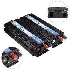 ความคิดเห็น 2000W Car Dc 24V To Ac 220V Modified Sine Wave Power Inverter Converter Durable Intl