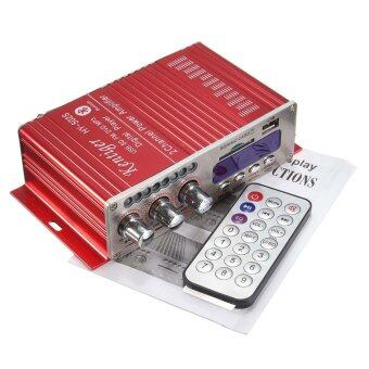 200วัตต์สเตอริโอแอมป์เครื่องเสียงเครื่องขยายสัญญาณบลูทูธสำหรับรถมอเตอร์ไซค์\nMP3 FM เสียง