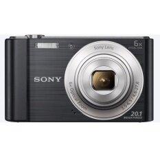 SONY กล้องถ่ายภาพ 20.1ล้านพิเซล ซูม 6 เท่า รุ่น DSC-W810 (สีดำ)