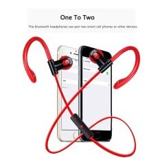 ขาย 2016 Best Quality Ttlife Sport Bluetooth Headphone Sweatproof Wireless Ear Hook Headset Red จีน ถูก