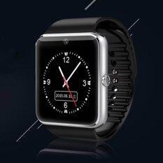 ราคา 2016 นาฬิกาสมาร์ทบลูทูธใหม่ล่าสุดพร้อมซิมการ์ดนาฬิกาอัจฉริยะ Forapplesamsung Gt08 สวมใส่สำหรับ Iphone แอนดรอยด์ Pk U8 Dz09 Silv นานาชาติ ใน จีน