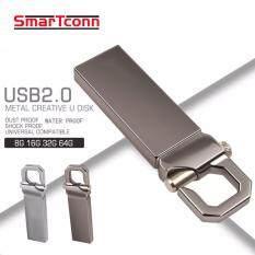 2017 Hot Usb Flash Drive Metal Pen Drive 32Gb Thumb Pendrive Usb 2 Memory Stick U Disk For Gift Intl ใน จีน