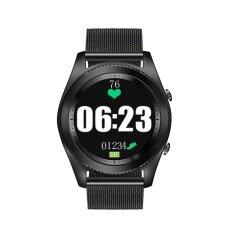 ส่วนลด 2017 ใหม่ S9 หัวใจบลูทูธ 4 สร้อยข้อมือสมาร์ทนาฬิกาอุปกรณ์สวมใส่บางโลหะรอบโทรศัพท์สมาร์ทโฟนอัตราการเต้นของหัวใจซิงค์โทรกดข้อความ Relogio สำหรับ Ios แอนดรอยด์คู่ดูสมาร์ท นานาชาติ Unbranded Generic ใน จีน