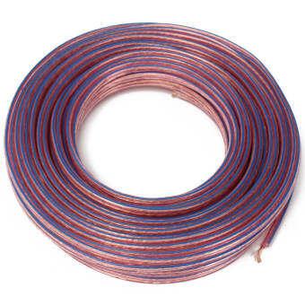 20 เมตรเมตร 2X0. 75MM2 Multi - Strand สายไฟลำโพงเสียงดัง/สำหรับ Home CAR AUDIO (Multicolor) - INTL-