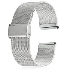 ขาย 20Mm Stainless Steel Mesh Bracelet Watch Band Replacement Strap For Men Women Intl Unbranded Generic ถูก