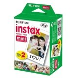 20Pcs Box Fujifilm Instax Mini 8 Film 20 Sheets For Camera Instant Mini 7S 25 50S 90 Photo Paper White Edge 3 Inch Wide Film Intl เป็นต้นฉบับ