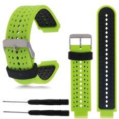 โปรโมชั่น 22Mm Silicone Wristband Watch Straps For Garmin Forerunner 235 630 230 Gps Watch Intl ใน ฮ่องกง
